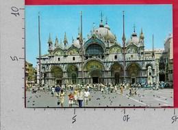CARTOLINA VG ITALIA - VENEZIA - Basilica Di S. Marco - 10 X 15 - ANN. 198? - Venezia