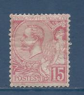 Monaco - YT N° 15 - Neuf Avec Charnière - 1891 à 1894 - Monaco