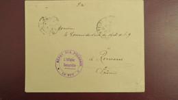 Lettre Du Camp Depot De Prisonniers De Guerre Polonais ( Enrôlé Par Les Allemands ) Le Puy 1916 Pour Romans - Marcophilie (Lettres)