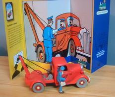 Voiture LA DEPANNEUSE SIMOUN CHEVROLET PICK UP De 1936, 1/43 De Tintin Au Pays De L'Or Noir, TINTIN - Tintin