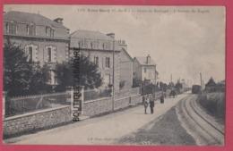 22 - SAINT QUAY---Route De Kertugal---L'Arrivée Du Rapide--animé----RR - Saint-Quay-Portrieux