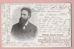 "AK Motiv Wilhelm Konrad Röntgen ""Grosse Jarhundert"" #110 Ges 08.03.1899 - Santé"