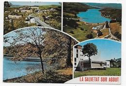 LA SALVETAT SUR AGOUT - MULTIVUES - CPM GF VOYAGEE - La Salvetat