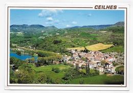 CEILHES - VUE GENERALE - CPM GF VOYAGEE - France