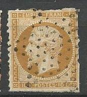 NAPOLEON N° 13B Percé En Ligne OBL TB - 1853-1860 Napoléon III