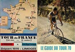 Gd Format :environ 15cms X10cms X 2volets-ref Y314- Sports -cyclisme - Raymond Poulidor -palmares Tour De France - - Cyclisme