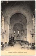 D 34 .  CPA . LAGAMAS . Interieur De L'Eglise .  . - France