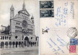 CREMONA - Facciata Del Duomo - CP Taxée   (110610) - Italy