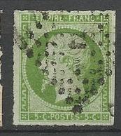 NAPOLEON N° 12 Percé En Ligne OBL TB - 1853-1860 Napoleon III