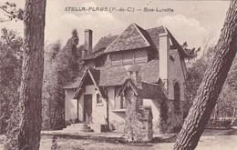 """62. STELLA PLAGE. CPA SÉPIA. RARETÉ. VILLA """" BOIS LURETTE """". ANNEE 1931 + TEXTE - France"""