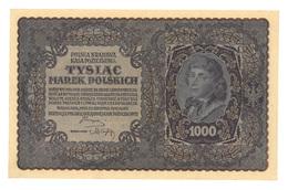 Billet, Pologne, 1000, Tysiac MAREK, 1919, SUP - Poland