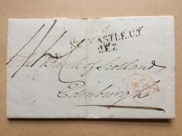 GB - 1807 Entire - Newcastle To Edinburgh - Great Britain