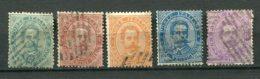 10224  ITALIE  N° 33/9 ° Sauf 37 Et 39  Humbert 1er  1879-82  B/TB - 1878-00 Humbert I