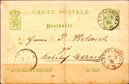 Postal History: Luxembourg Postal Stationary From 1896 - Stamped Stationery