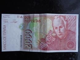 TRES TRES BEAU 2000 PESETAS DE 1992 - [ 4] 1975-… : Juan Carlos I