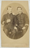 Photographie G. Lang à Montélimar , Circa 1870 . 2 Soldats . - Anciennes (Av. 1900)