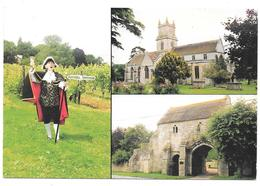Tisbury's Town Crier, At Fonthill Vineyard - Tisbury's 800 Year Old Parish Church - Entrance Gate, Place Farm - Angleterre