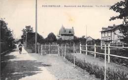 78 - PORCHEVILLE : Boulevard Des Parisiens - CPA - Yvelines - Porcheville