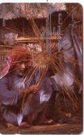 BAHRAIN BASKET MAKER 200U UT N° 2BAHD....OLD TIMER CARD ANCIENNE - Bahreïn