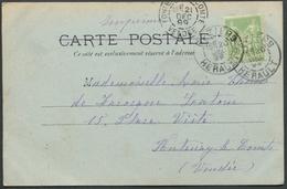 Béziers - Circulé En 1899 - Vue Générale Du Faubourg Du Pont - Voir 2 Scans - Beziers