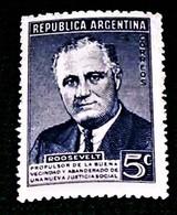 Argentina, 1946, Franklin Delano Roosevelt,MNH. Michel # 526 - Célébrités