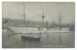 CPA BATEAU S. FRANCISCO - N. AMERICANA - Guerre