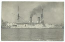 CPA BATEAU N.RUSSA - NICOLA II - Guerre