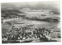 CPSM VUE AERIENNE, ST SAINT MALO, VALLEE DE LA RANCE, L'USINE MAREMOTRICE, ILLE ET VILLAINE 35 - Saint Malo