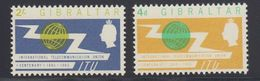 Gibraltar 1965 ITU 2v ** Mnh (41487N) - Gibraltar