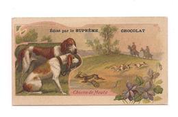 CHROMO CHIEN DE MEUTE - SUPREME CHOCOLAT - - Chocolat