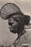 A.O.F. GUINEE: Coiffure En Cimier D'une Femme Du Foutadjalon - Guinée Française