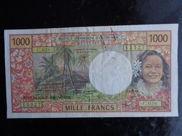 INSTITUT D'EMISSION D'OUTRE MER R.F. : 1000 FRACS - French Pacific Territories (1992-...)