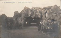 Mouscron (Moeskroen) Le Tuquet : Grotte De N.D. De Lourdes - Carte Photo - Fotokaart - Mouscron - Moeskroen