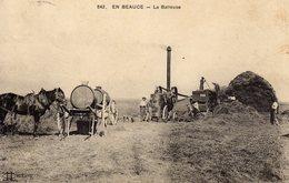 EN BEAUCE La Batteuse - Agriculture