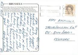 NETHERLANDS # POSTCARD FROM BRUSSELS - Period 1949-1980 (Juliana)