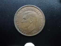 ROYAUME UNI : 1 PENNY  1938    KM 845     SUP - 1902-1971 : Monnaies Post-Victoriennes