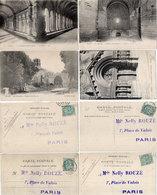ARLES - 4 CPA Adressée A Melle Nelly Rouzé A Paris - Les Aliscamps - St Trophime (110620) - Arles