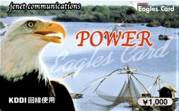 *GIAPPONE* - Scheda Usata - Eagles & Birds Of Prey