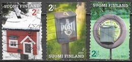 Finlande  - Y&T N° 2049 + 2052 - Oblitérés - Lot 167 - Finlande
