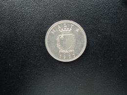 MALTE : 2 CENTS   1993    KM 94    SUP+ - Malte