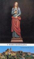 Castiglione Del Lago (Perugia) - Santino SANTA MARIA MADDALENA - PERFETTO P85 - Religione & Esoterismo