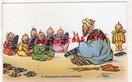 ILLUSTRATEUR P. NERI- N° 8 L' ENSEIGNEMENT PRIMAIRE OBLIGATOIRE- ECOLE - Altre Illustrazioni
