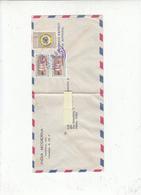 PANAMA  1958 - Yvert 314-321  - Lettera Per Italy - Panama