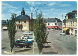 CP BRUZ, PLACE DE LA MAIRIE, AUTOS VOITURES ANCIENNES, TABAC, ILLE ET VILAINE 35 - France