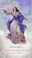 Bagnoli Del Trigno IS - Santino SANTA MARIA ASSUNTA IN CIELO - PERFETTO P85 - Religione & Esoterismo