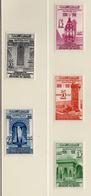 1960 - MAROCCO - MAROC - Yv:  Nr. 405/409 - NH - (UP121.17) - Morocco (1956-...)