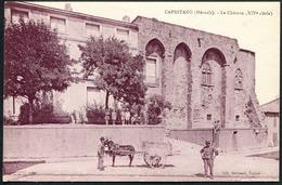 Capestang - Le Château - Edit. Bertrand, Tabacs - Voir 2 Scans - Capestang