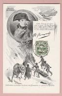 AK Motiv Napoléon Centenaire Du Passage Des Alpes Gest. 20.05.1900 Grand St Bernard - Personnages Historiques