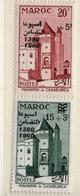 1960 - MAROCCO - MAROC - Yv:  Nr. 411/412 - NH - (UP121.17) - Morocco (1956-...)