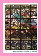 CPM LILLE  Aspect D Un Vitrail De L Eglise De  BOUVINES - Lille